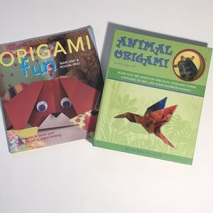 Origami for Kids, Animal Origami Kit, Books, Paper